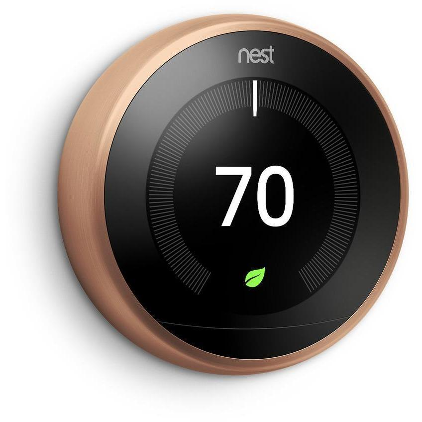 nest thermostat 3rd generation 39 learning 39 thermostat. Black Bedroom Furniture Sets. Home Design Ideas