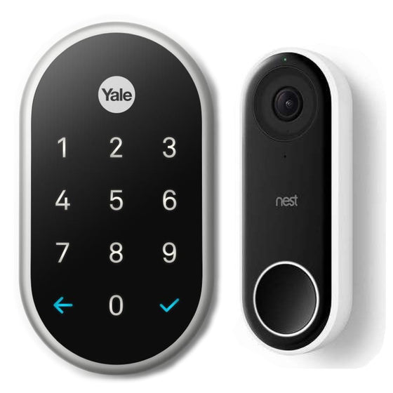 Nest Smarter Bundle: Nest X Yale + Nest Hello