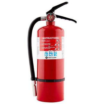 First Alert 5 Lb ABC Rechargeable Heavy Duty Plus Fire Extinguisher