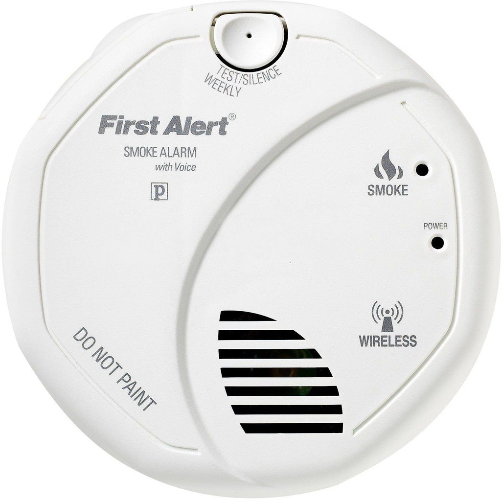 brk first alert sa511b wireless interconnect battery smoke alarm w wholesale home. Black Bedroom Furniture Sets. Home Design Ideas