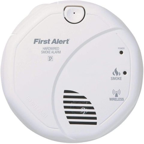 BRK First Alert - SA521CN-3ST Interconnected Hardwire Wireless Smoke Alarm with Battery Backup - Wholesale Home Improvement Products