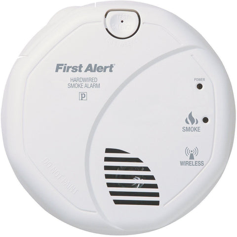 BRK First Alert - SA520B Interconnected Hardwire Wireless Smoke Alarm with Battery Backup - Wholesale Home Improvement Products