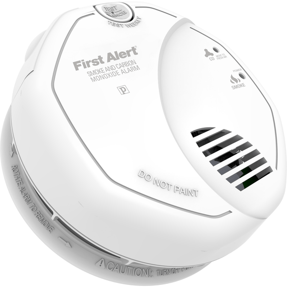 BRK First Alert - SC7010B Hardwired Photoelectric Smoke and Carbon Monoxide Alarm - Wholesale Home Improvement Products
