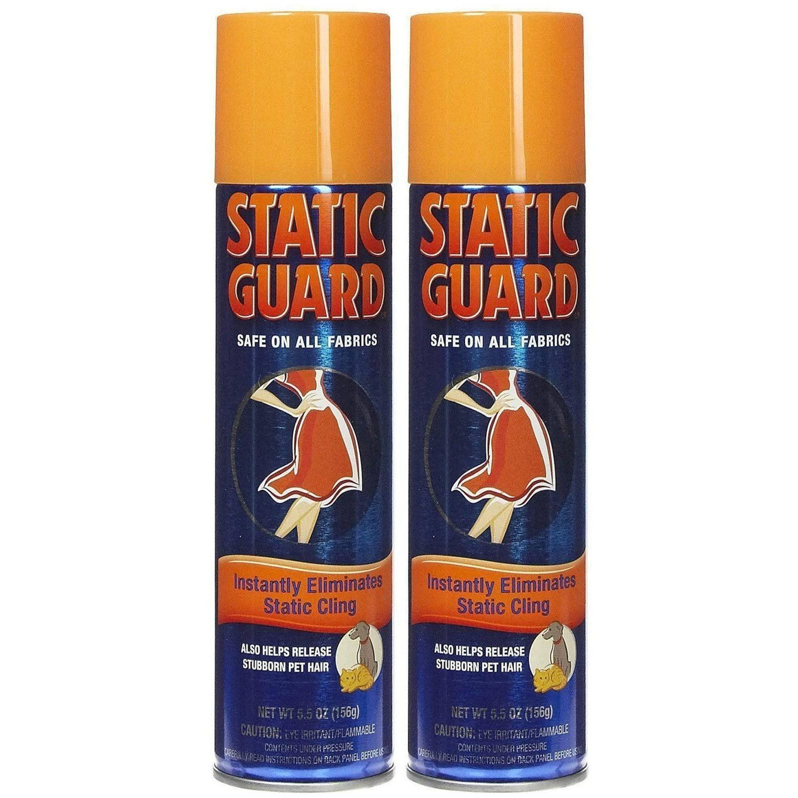 Static Guard Fabric Spray, 5.5 Ounce