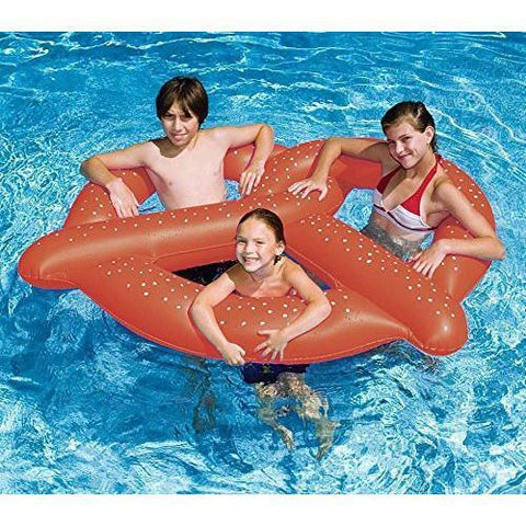 "Swimline - 90640 Giant Pretzel Inflatable Floating Seat 60"" - Wholesale Home Improvement Products"