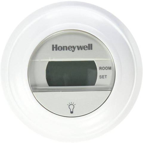 Honeywell - Digital T8775A1009 Round Non-Programmable Heat-Only