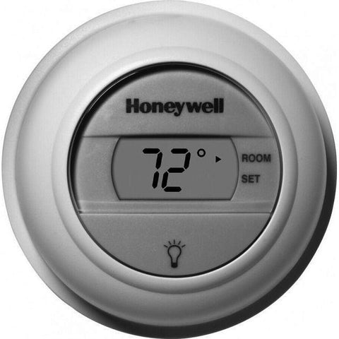 Honeywell - T8775C1005 Digital Round Non-Programmable Thermostat