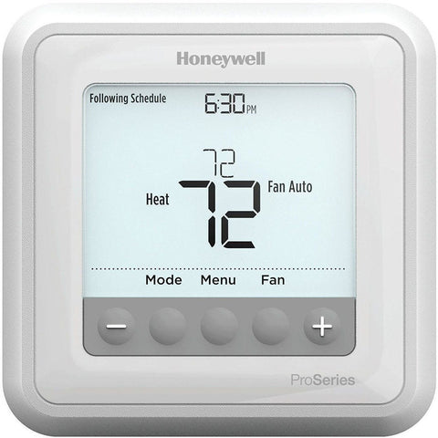 Honeywell - TH6210U2001 T6 Pro Programmable Thermostat
