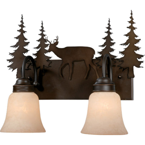 Vaxcel - VL55402BBZ - Bryce - Two Light Vanity Light