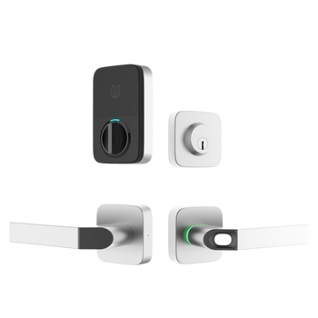 Ultraloq - Combo Bluetooth Enabled Fingerprint & Key Fob Two-Point Smart Lock