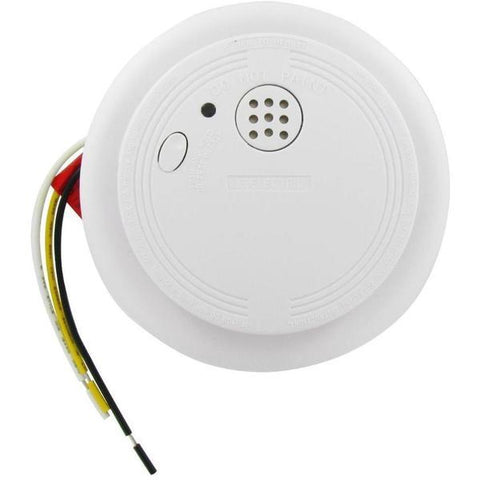 USI Electric Smoke Detector - 1204HA Wire-In with Battery Backup