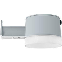 RAB YBLED26 - 26 Watt LED Barn Light Fixture - 150W HPS Equal - 5000K Stark White - 120 Volt - Silver Gray Finish - Wholesale Home Improvement Products