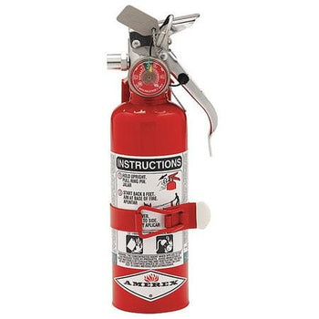 Amerex - A384T 1.4 lb B C Class Halotron I Fire Extinguisher - EPA approved