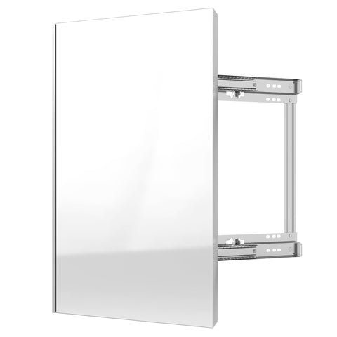Sidelines CMSL-1424-SM-1 / 24 in Closet Mirror w/Soft-Close