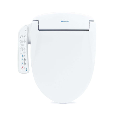Brondell Swash SE400 Bidet Seat with Air Dryer And Stainless-Steel Nozzle White - Wholesale Home Improvement Products