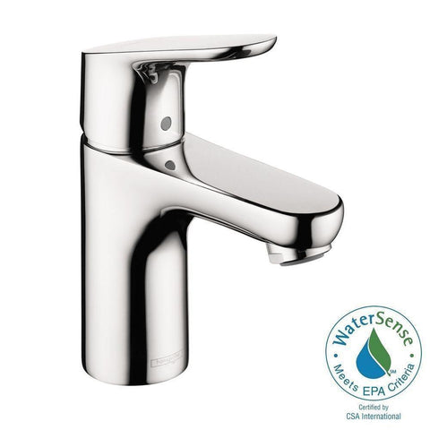 Hansgrohe 04371000 Focus 100 Single Hole Bathroom Faucet - Chrome - Wholesale Home Improvement Products