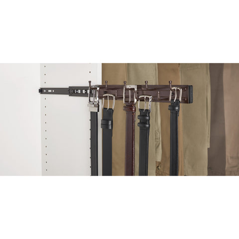 Rev-A-Shelf BRC-14ORB / 14 in Oil Rubbed Bronze Pullout Belt Rack