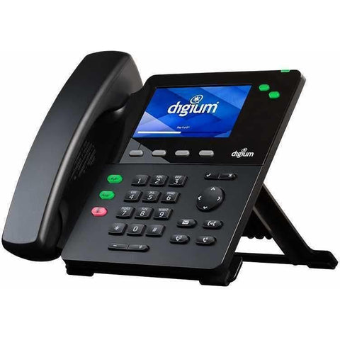 Digium D62 IP Phone 2-Line SIP Telephone with HD Voice, Gigabit, 4.3 Inch Color Display & Icon Keys - Wholesale Home Improvement Products
