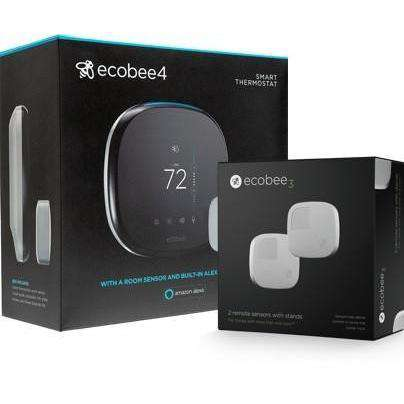 Ecobee - Ecobee4 Smarter Bundle  (Pro Model) - Wholesale Home Improvement Products