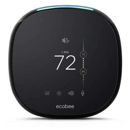 Ecobee - Ecobee4 Wi-Fi Thermostat with Sensor - Voice Enabled - Wholesale Home Improvement Products