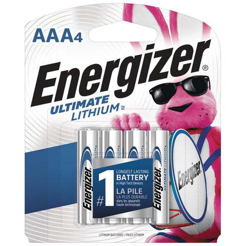 Energizer AAA Ultimate Lithium Batteries - Commercial Packaging - Wholesale Home Improvement Products