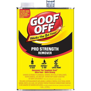 Goof Off  - Professional Strength Remover - 1 Gal - Wholesale Home Improvement Products