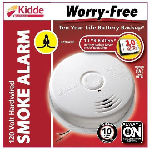 Kidde - i12010S Hardwired Smoke Alarm 10-Year - Wholesale Home Improvement Products