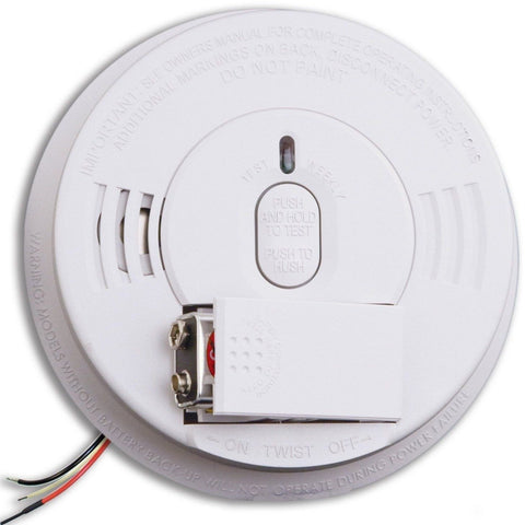 Kidde - i12060 Hardwire Smoke Alarm With Front Load Battery Backup - Wholesale Home Improvement Products