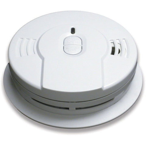 Kidde - i9010 Smoke Detector, 3V 10-Year Sealed Lithium Battery Powered w/Memory & Smart Hush - Wholesale Home Improvement Products