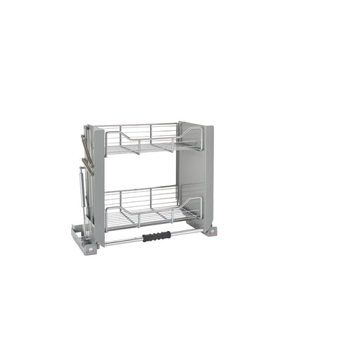 Rev-A-Shelf 5PD-24CRN / 24 in Chrome Pull Down Shelf