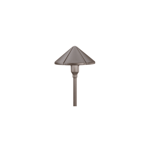 Kichler - Center Mount 12V Path Light Textured Architectural Bronze - Wholesale Home Improvement Products