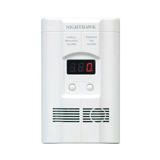 Kidde - KN -COEG-3 Nighthawk Plug-In Carbon Monoxide and Explosive Gas Alarm with Battery Backup - Wholesale Home Improvement Products