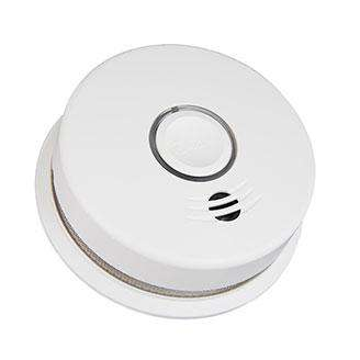 Kidde - P4010DCSCO-W Wire-Free Interconnected Battery Powered Combination Smoke and Carbon Monoxide Alarm (21027311)
