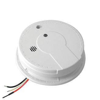 Kidde - i12040 Smoke Detector, 120V Hardwired Ionization Rear Load w/Hush Button, Battery Backup & Alarm Memory (21006378) (1275) - Wholesale Home Improvement Products