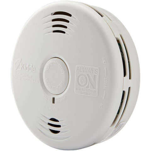 Kidde P3010CU Worry-Free Photoelectric Smoke & Carbon Monoxide Alarm with 10 Year Sealed Battery And Voice - Wholesale Home Improvement Products