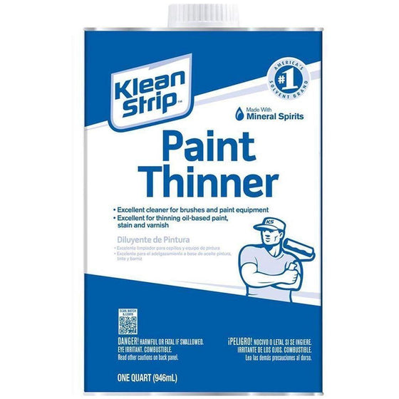 Klean-Strip - Paint Thinner, 1-Pint - Wholesale Home Improvement Products