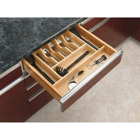 Rev-A-Shelf 4WCT-3SH / Short Wood Cutlery Tray Insert
