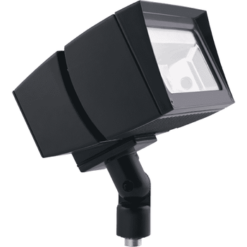 RAB Lighting FFLED52 52W LED Floodlight, 5000 K (Cool) Color Temp, Arm Mounted, Standard Type, Bronze Finish