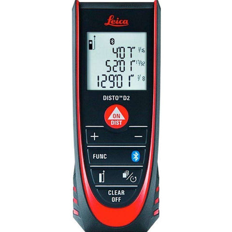 Leica - DISTO D2 330 ft. Laser Distance Measurer
