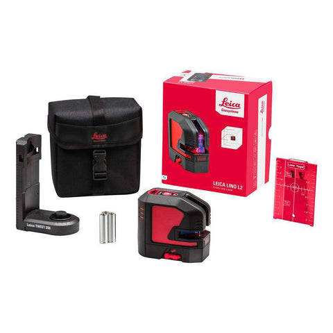 Leica - Lino L2s Cross Line Laser Level Starter Kit