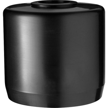 "RAB Lighting MCAP3B PVC Mighty Cap Black - Fits 2.5"" PVC - 1/2"" Threaded Hole - Wholesale Home Improvement Products"
