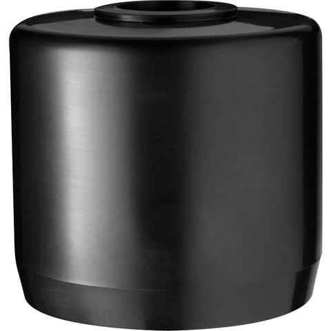 "RAB Lighting MCAP2B Mighty Post Cap for 2"" Pipe, 2-3/8"" OD x 2-3/4"" Height, Black"