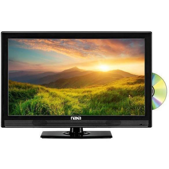 "NAXA NTD-1952 19"" Widescreen HD LED TV, Digital TV Tuner, USB/SD Inputs & DVD Player - Wholesale Home Improvement Products"
