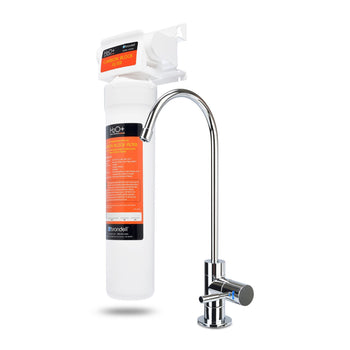 Brondell H2O+ Coral Single-Stage Undercounter Water Filtration System w/ Over 99% Lead Reduction UC100 - Wholesale Home Improvement Products