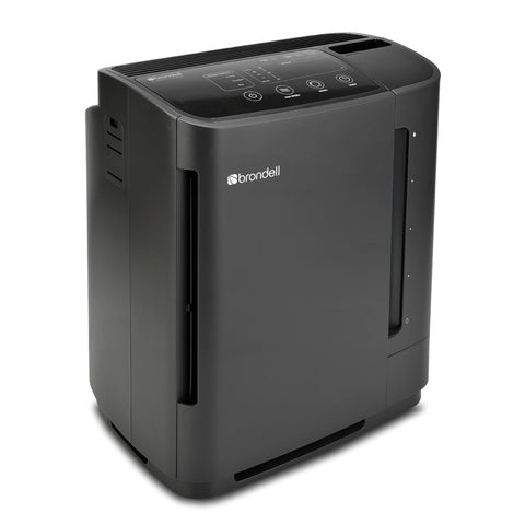 Brondell O2+ Revive True HEPA Air Purifier + Humidifier, Black - Wholesale Home Improvement Products