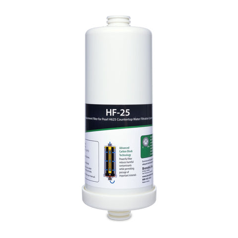 Brondell H2O+ Pearl Carbon Block Water Replacement Filter HF-25 - Wholesale Home Improvement Products