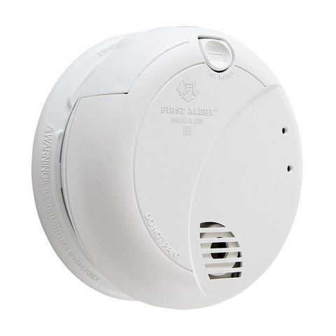 BRK First Alert 7010LBL Hardwired Photoelectric Smoke Alarm - 10 Year Battery - Wholesale Home Improvement Products