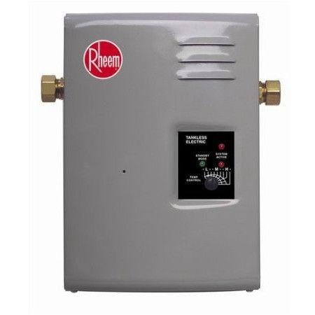 Rheem - RTE 13 Electric Tankless Water Heater, 4 GPM - Wholesale Home Improvement Products