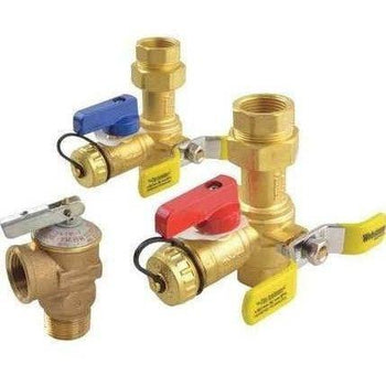 Rheem - RTG20220AB Webstone Tankless Water Heater Service Valve Kit - Wholesale Home Improvement Products