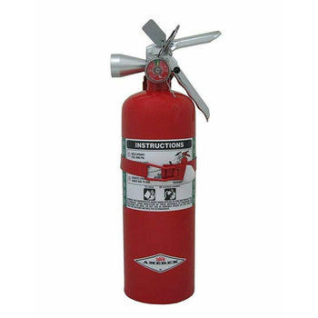 Amerex - B386T, 5lb B C Class Halotron I Fire Extinguisher - EPA approved